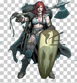 Red Sonja Queen Of The Frozen Wastes Odin Freyja Valknut PNG