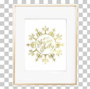 Gold Leaf Poster Bedroom PNG