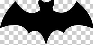 Bat Halloween Silhouette PNG