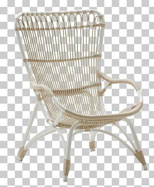 Table Chair Cushion Rattan Furniture PNG
