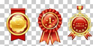 Badge Medal Gold PNG