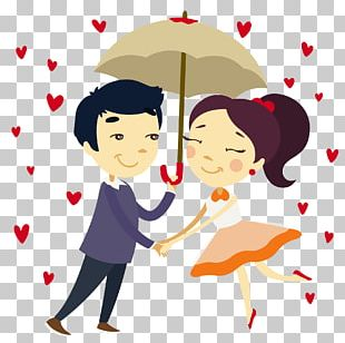 Romance Falling In Love Couple PNG