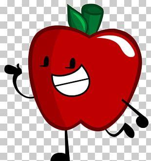 Drawing Apple Cartoon Character PNG