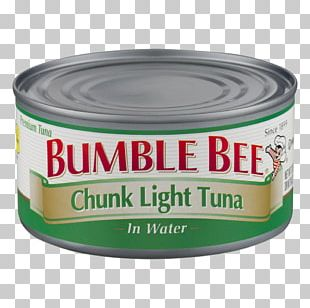 Bumble Bee Chunk Light Tuna Product Can Water PNG