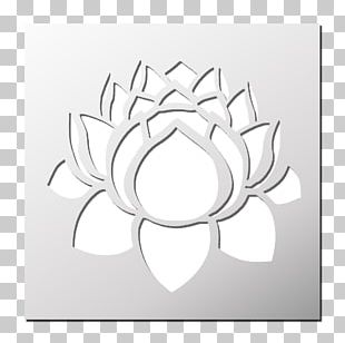Lotus Flower Stencil Png Images Lotus Flower Stencil Clipart Free