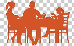 Table Dining Room Dinner Silhouette PNG