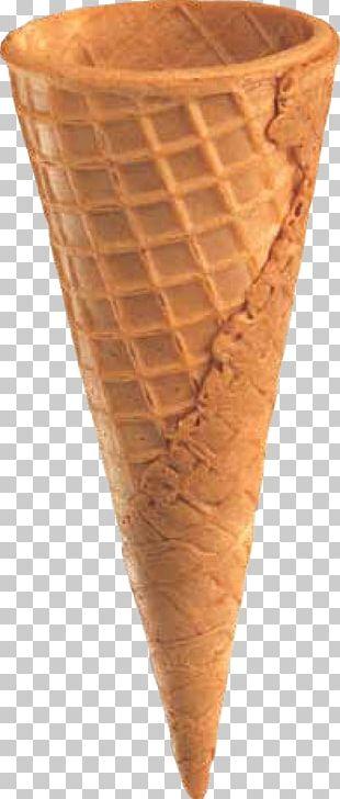 Ice Cream Cones Cream Horn Waffle PNG