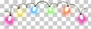 Christmas Lights Lighting Animation PNG