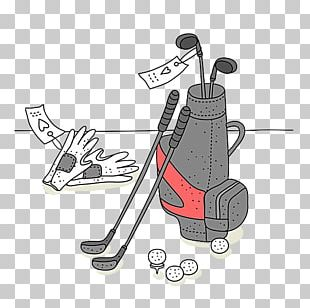 Golf Ball Golf Club Golf Course Illustration PNG