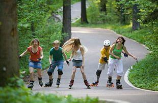 In-Line Skates Roller Skating Skatepark Roller Skates Stock Photography PNG