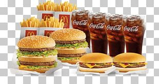 Cheeseburger McDonald's Big Mac Fast Food Junk Food PNG