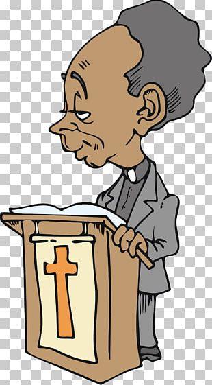 Preacher Pastor African American Black PNG