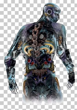 Motorcycle Sculpture Recycling Robot Scrap PNG