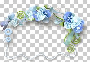 Blue Rose Flower Blog PNG