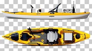 Kayak Fishing Boat Sit On Top PNG