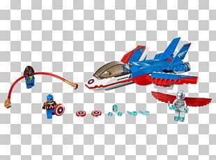 Lego Marvel Super Heroes LEGO 76076 Marvel Super Heroes Captain America Jet Pursuit Amazon.com PNG