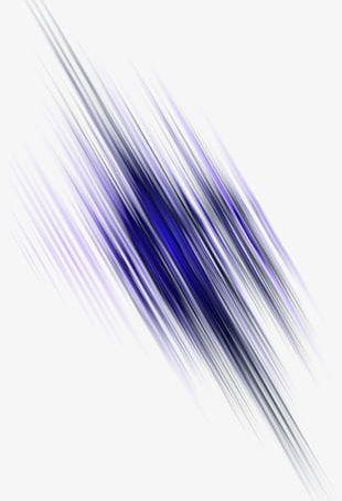 Blue Fancy Light Line Effect Element PNG