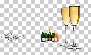 Champagne Glass White Wine Sparkling Wine PNG