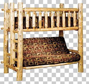 Bunk Bed Futon Rustic Furniture PNG