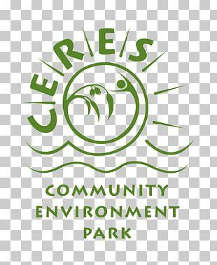 CERES Community Environment Park Logo Brand Font PNG