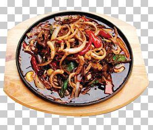 Teppanyaki Squid As Food Chinese Cuisine Hunan Cuisine Barbecue PNG