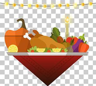 Turkey Thanksgiving Dinner PNG