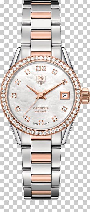 TAG Heuer Carrera Calibre 5 Watch Quartz Clock TAG Heuer Aquaracer Calibre 5 PNG