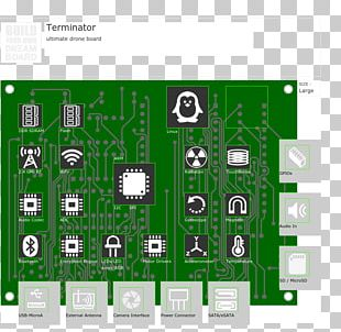 Electronic Component Electronics Electronic Circuit Printed Circuit Boards Electrical Network PNG