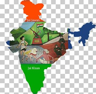 India Map Silhouette PNG