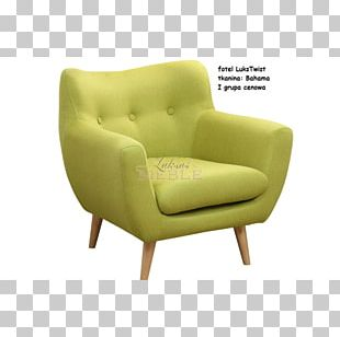 Club Chair Furniture Fauteuil Wing Chair Couch PNG