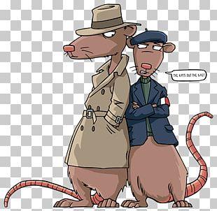 Horrible Histories Character Sketch Rat PNG