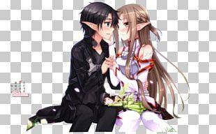 Asuna Kirito Sword Art Online Anime Leafa PNG