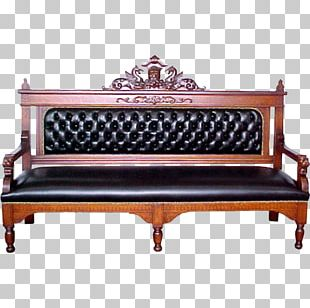 Sofa Bed Antique Furniture Bench PNG