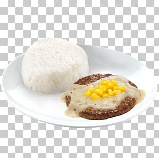 Hamburger Pepper Steak Beefsteak Gravy PNG