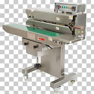 Machine Heat Sealer Packaging And Labeling Product PNG