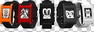 Pebble Time Moto 360 Smartwatch PNG