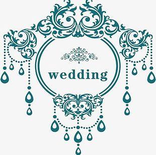 Theme Wedding Logo PNG