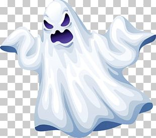 Ghoul Ghost Halloween Cartoon PNG