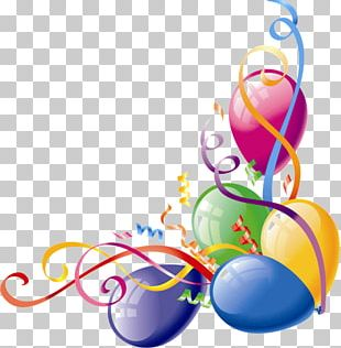 Balloon Party Birthday PNG