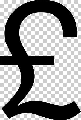 Pound Sign Pound Sterling Symbol PNG