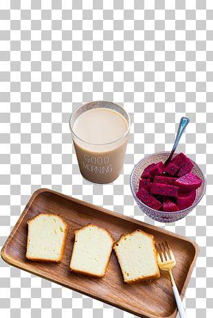 Hamburger Coffee Breakfast Milk Pound Cake PNG