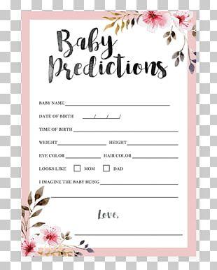 Wedding Invitation Baby Shower Flower Bridal Shower Infant PNG