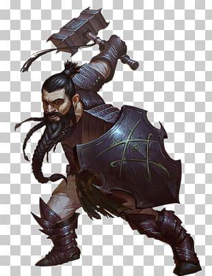 Pathfinder Roleplaying Game Dwarf Hammer Warrior PNG