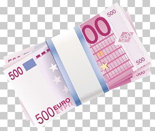500 Euro Note Banknote Money PNG