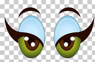 Eye Cartoon Girl PNG