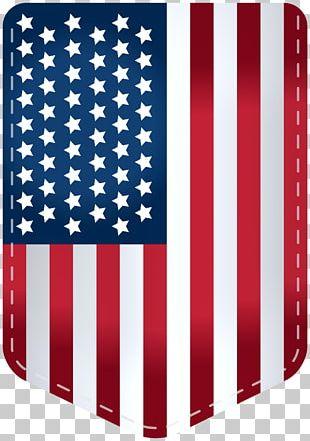 USA Flag Decor Transparent PNG