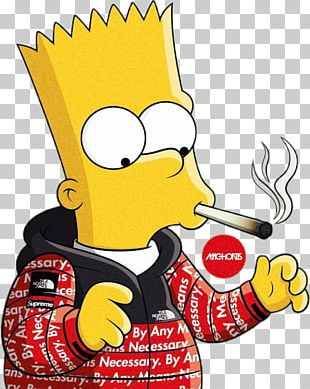 Bart Simpson Homer Simpson Supreme Graphic Designer PNG