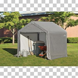 ShelterLogic Shed-in-a-Box Garage Carport Garden Furniture PNG