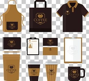 Coffee Cafe Advertising Corporate Identity PNG
