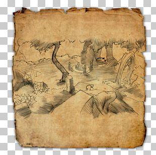 Elder Scrolls Online: Clockwork City The Elder Scrolls Online Treasure Map PNG